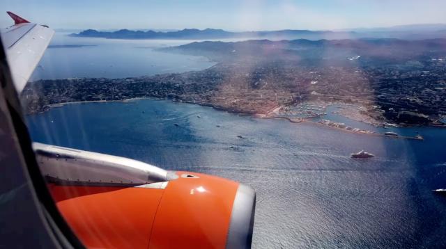 Plane ride to 'Nice'
